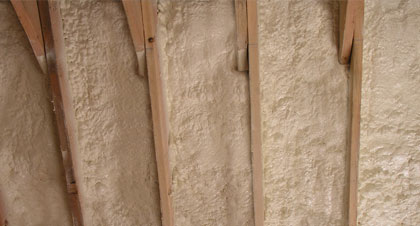 closed-cell spray foam for Los Angeles applications